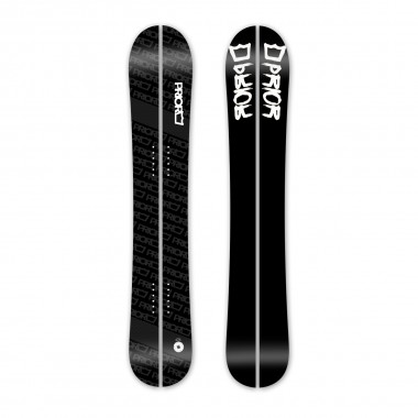 Prior Backcountry XTC Carbon Splitboard repeat black 15/16