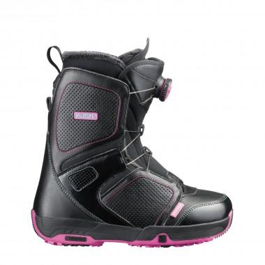 Salomon Pearl Boa wms black/fancy pink 13/14